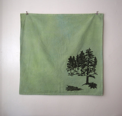 White Pines Tea Towel