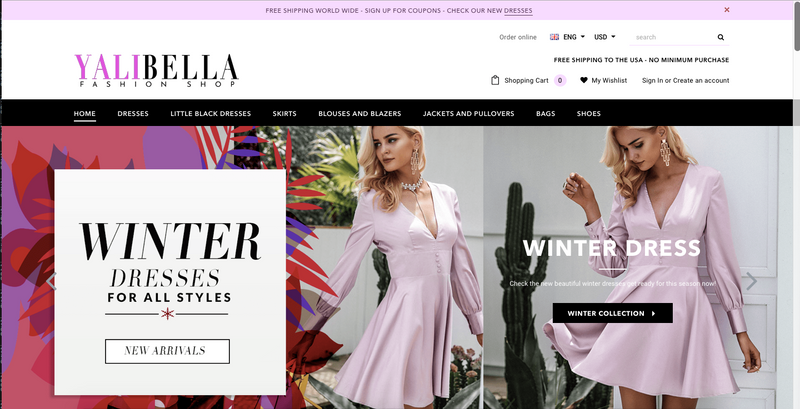 YALIBELLA.COM HAS LAUNCHED!