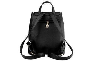 School Backpack Faux Leather for girls,YALIBELLA
