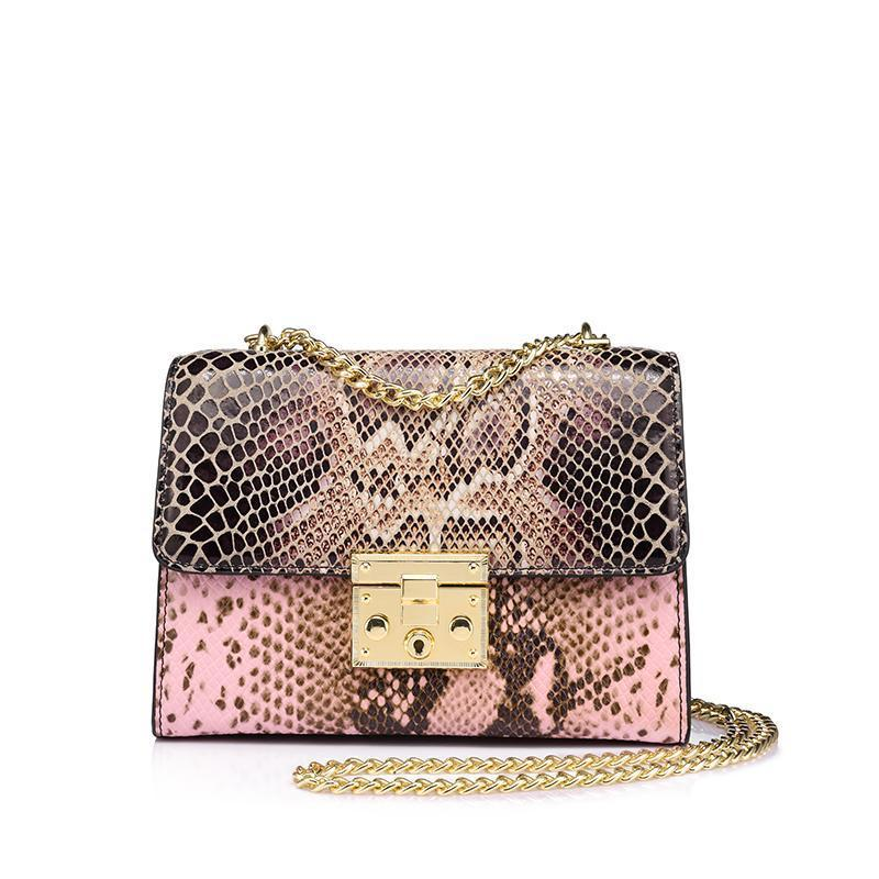 Snake Print Crossbody bag | Shop online at YALIBELLA.COM Free shipping