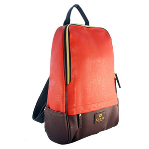 Cougar Vegan backpack in brown | Cougar bolsa vegana bolso vegano en café,,YALIBELLA