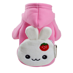 Pet Costume with Cute Character Bag