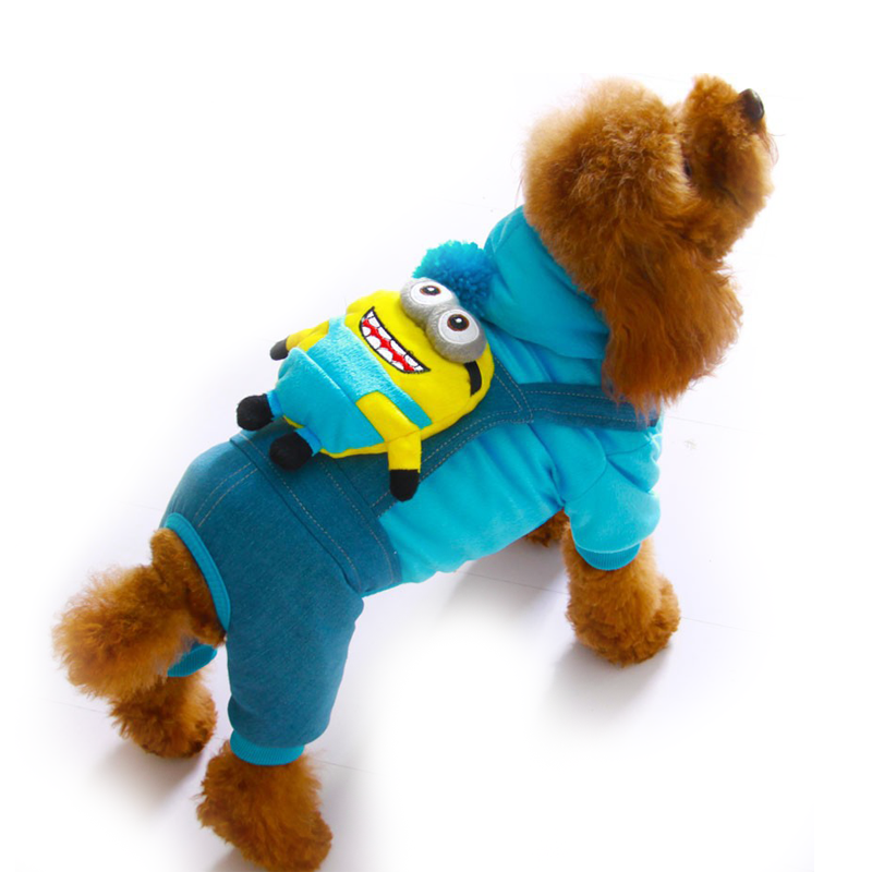 Dog Overalls with Fun Pack