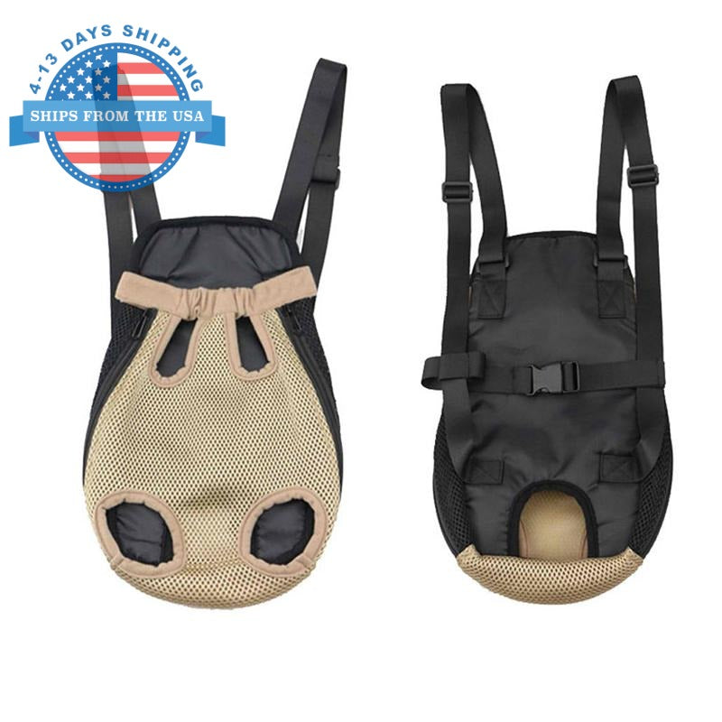 Nylon Sling Pet Carrier Tan / S Accessories