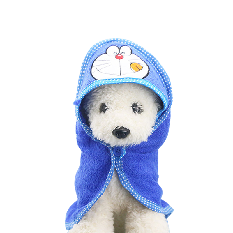 Pet Drying Towel with Hood