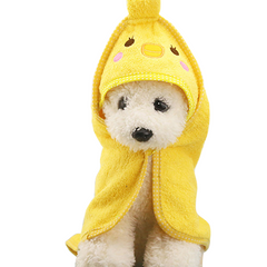 Pet Drying Towel with Hood -All Proceeds Go Towards Saving Animals