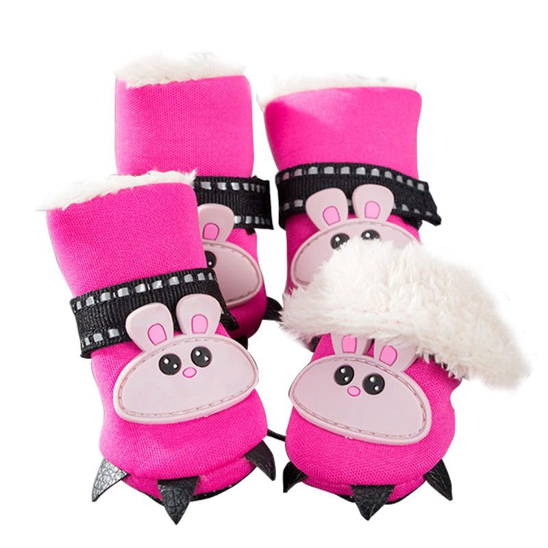 Animal Cotton Boots for Small Dogs