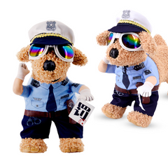 Traffic Police Dog Costume