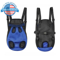 Nylon Sling Pet Carrier Blue / S Accessories