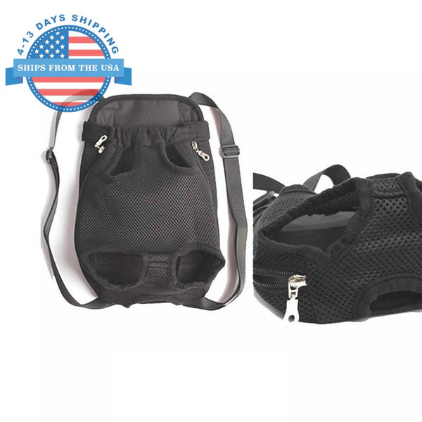 Nylon Sling Pet Carrier Black / S Accessories