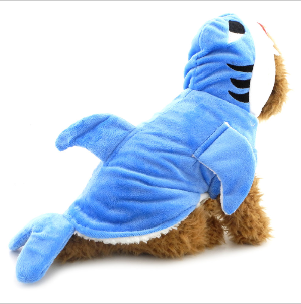 Shark Cosplay Dog Costume -All Proceeds Go Towards Saving Animals