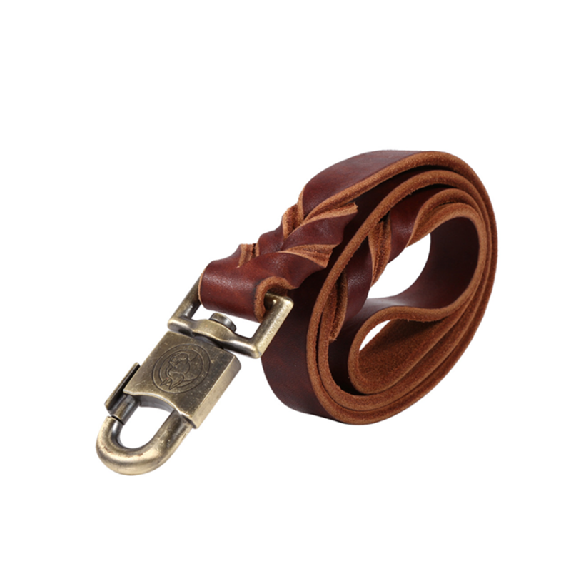 Soft Leather Leash for Big Dogs
