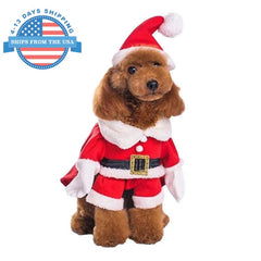 Doggy Santa Clothes