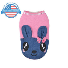 Sweet Bunny Jacket For Dogs M Clothes