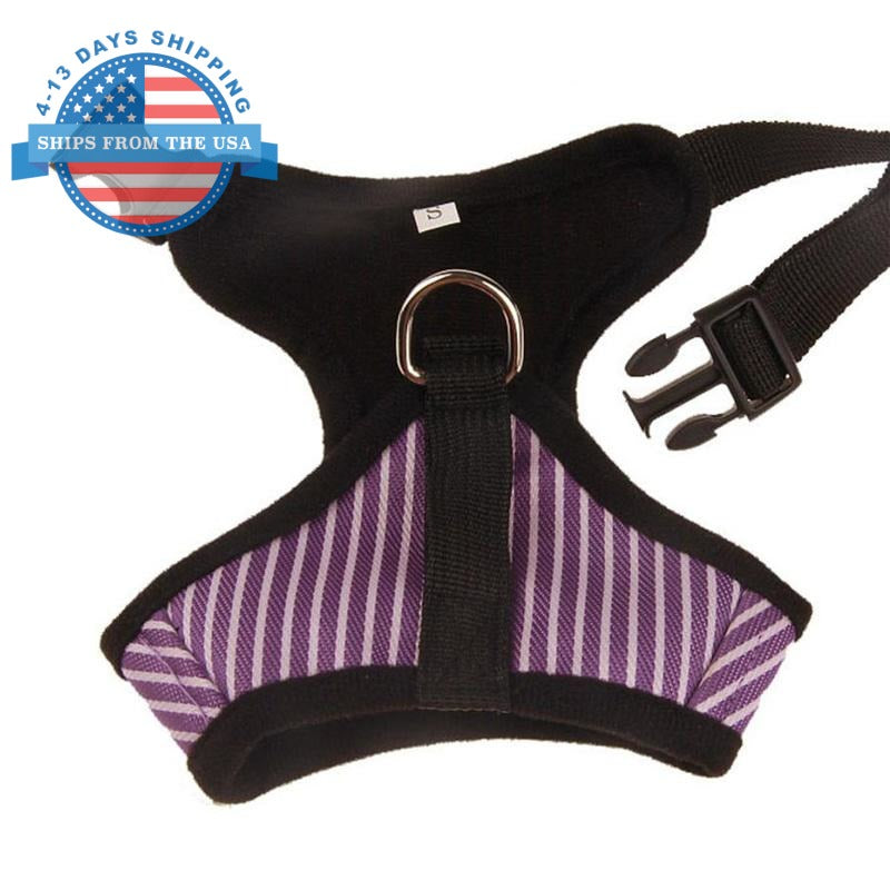 Striped Vest Harness Harnesses