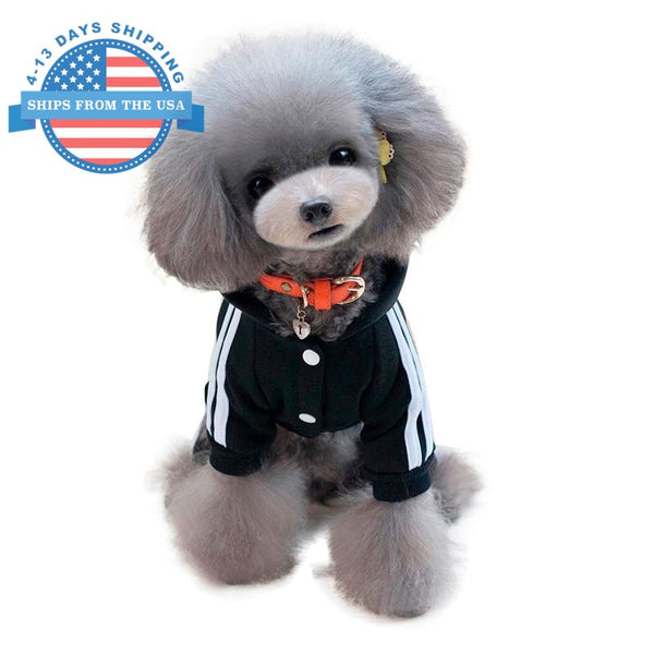 Sports Dog Costume Black / L Clothes