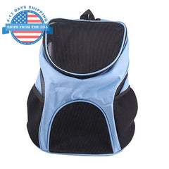 Colorful Travel Dog Carrier Blue Accessories