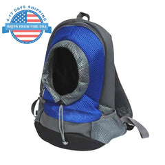 Adjustable Pet Carrier Blue / L Accessories