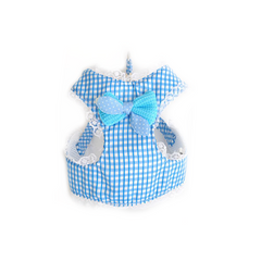 Checkered Print Harness -All Proceeds Go Towards Saving Animals