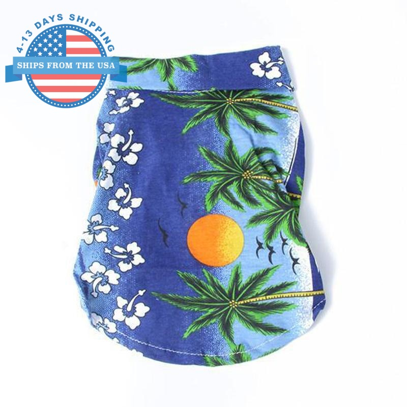 Doggie Beach Wear Blue / L Clothes
