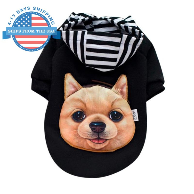 Sweater With Dog Pack L Clothes