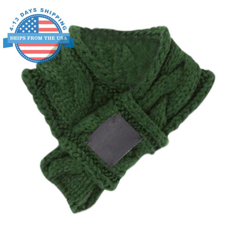 Decorative Pet Scarf Green / L Accessories