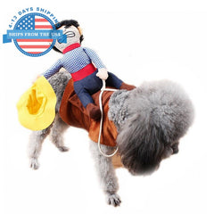 Cosplay For Pets Cowboy / S Clothes