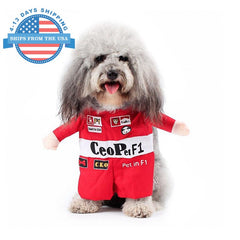 Cosplay For Pets Racer / S Clothes