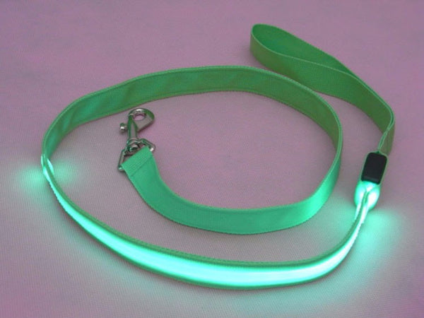 LED Safe Glow Leash (All Proceeds Go Towards Saving Animals)!