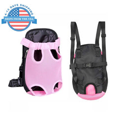 Nylon Sling Pet Carrier Pink / S Accessories