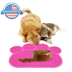 Paw Shape Feeding Mat Accessories