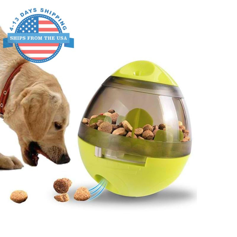 Dog Food Tumbler And Toy Dispenser Toys