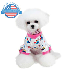Fun Prints Dog Clothes Pink / M