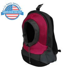 Adjustable Pet Carrier Pink / L Accessories