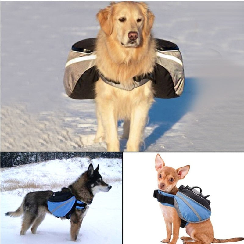 Dog Saddle Reflective Backpack -All Proceeds Go Towards Saving Animals