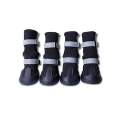 4pcs Waterproof Pet Dog Boots -All Proceeds Go Towards Saving Animals