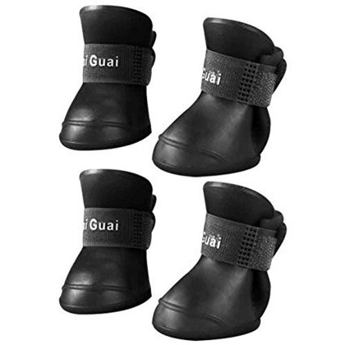 Rain Snow Boots 4 Pcs -All Proceeds Go Towards Saving Animals