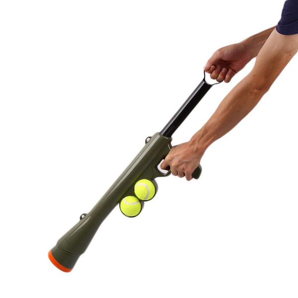 "Tennis Ball Launcher ""All Proceeds Goes Towards Saving Animals"""