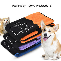 Ultra-absorbent Microfiber Mitt Pet Towel -All Proceeds Go Towards Saving Animals