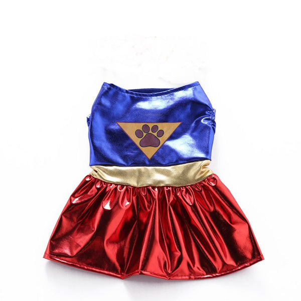 Wonder Woman Dog Outfit (All Proceeds Go Towards Saving Animals)!