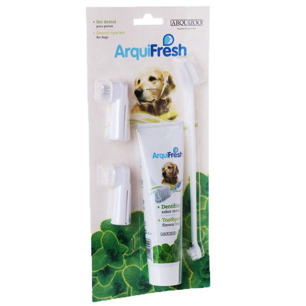 Pet Hygiene Teeth Care Toothbrush Toothpaste Pet Dog Cat Brushes  Dog Tooth Cleaning Dog Health Supplies