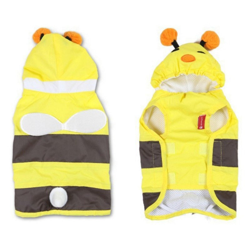 "XS-XXXL Bumble B Rain Coat ""All Proceeds Goes Towards Saving Animals"""
