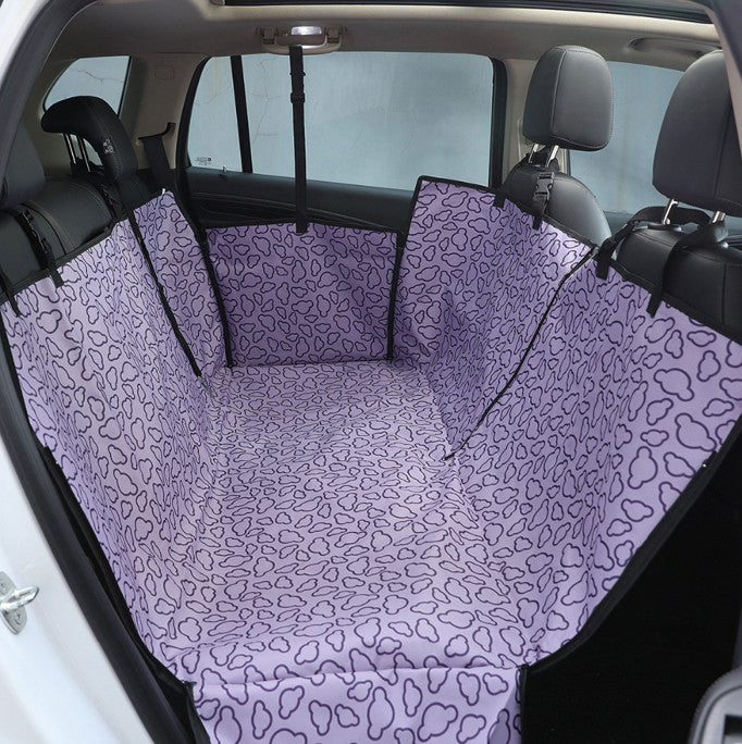 Rear Back Seat Waterproof Cover -All Proceeds Go Towards Saving Animals