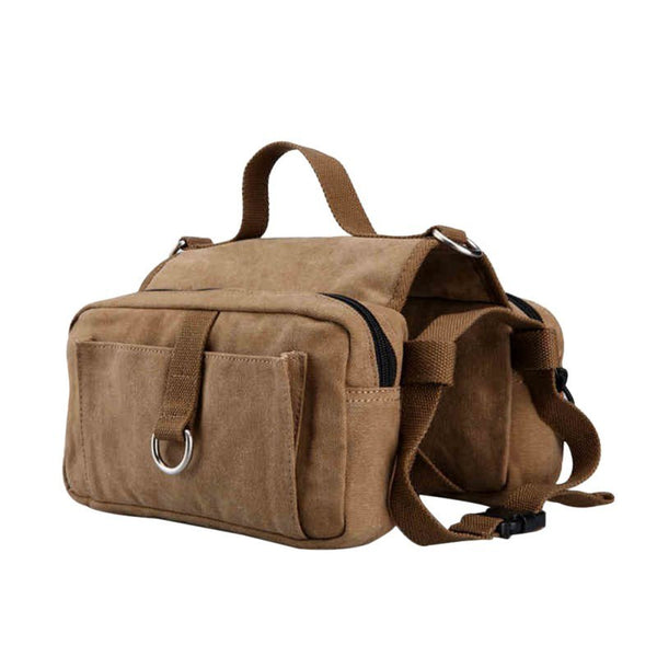 "Breathable cotton ultra-light Dog Saddle Bags ""All Proceeds Goes Towards Saving Animals"""