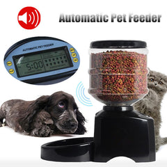 5.5L Automatic Programmable Dog Cat Pet Feeder -All Proceeds Go Towards Saving Animals