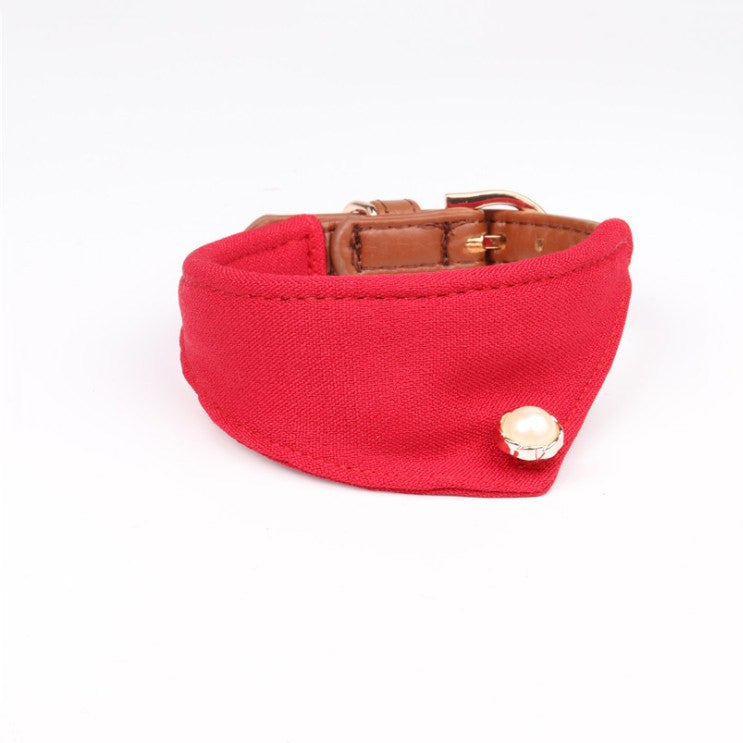 Adjustable Dog Scarf Collar -All Proceeds Go Towards Saving Animals