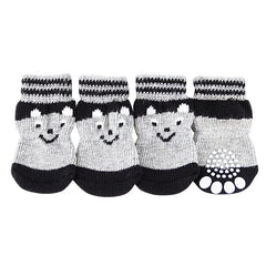 4 pcs Lovely Pet Puppy Soft Warm Socks S-XL (All Proceeds Go Towards Saving Animals)!