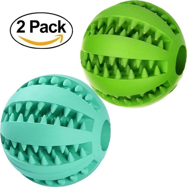 2-Pack Tooth Cleaning Dog Toy -All Proceeds Go Towards Saving Animals