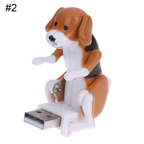 Portable Funny Cute USB Electronic Dog Jump Dog Toy for Adult