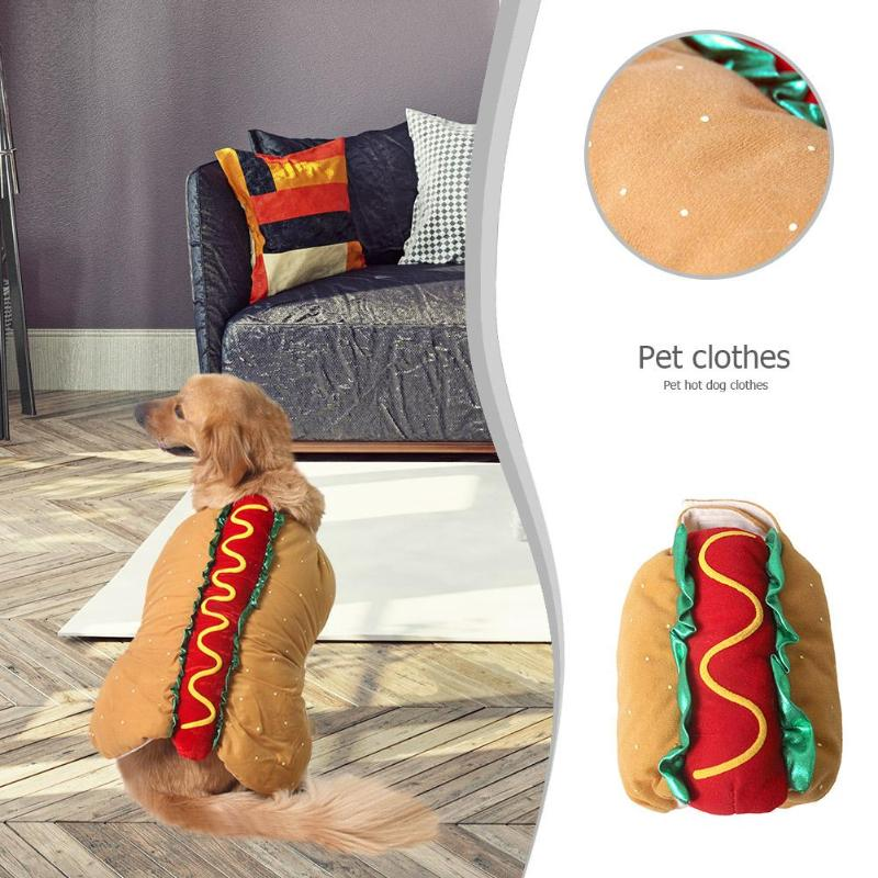 XXS-XXL Hot Dog Costume